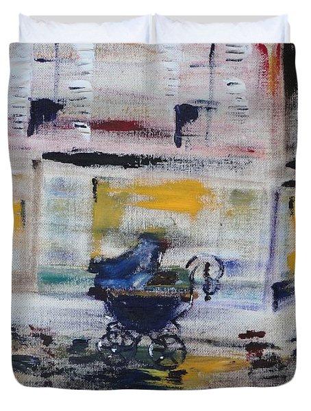 Fleeting Time Duvet Cover by PainterArtist FIN
