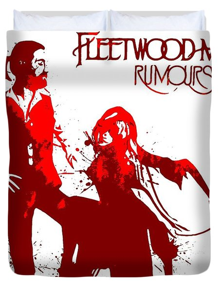 Fleetwood Mac Rumours Duvet Cover