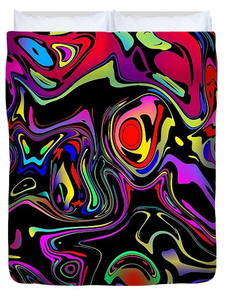 Flerb Duvet Cover by Mark Blauhoefer