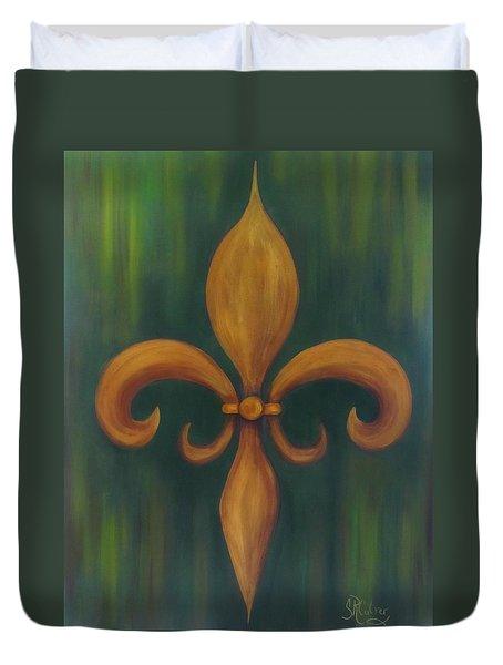 Fleur-de-lis Duvet Cover