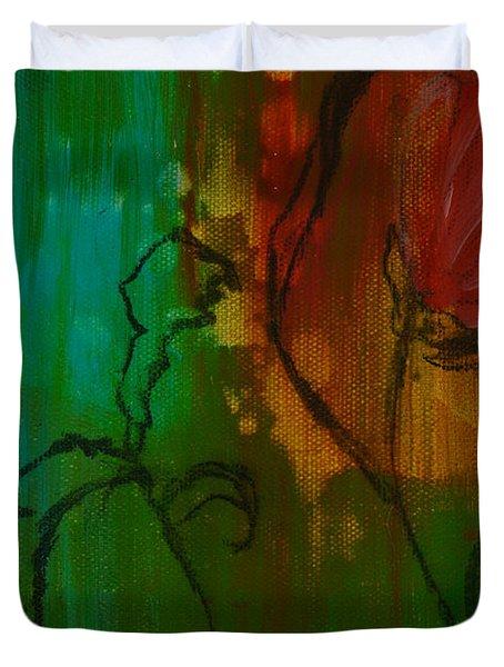 Fleur Duvet Cover by Robin Maria Pedrero
