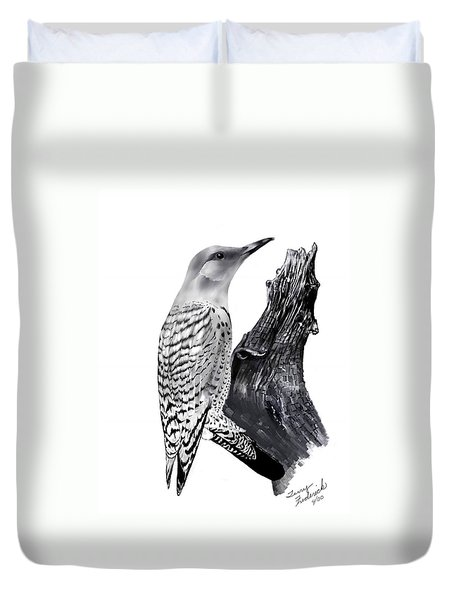 Flicker Duvet Cover by Terry Frederick