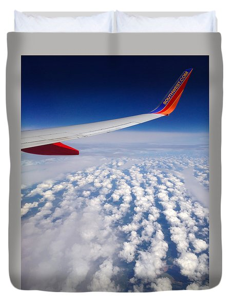 Flight Home Duvet Cover