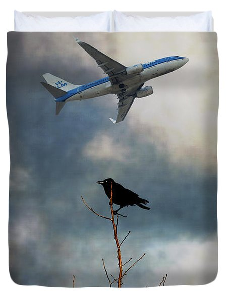 Flight Duvet Cover