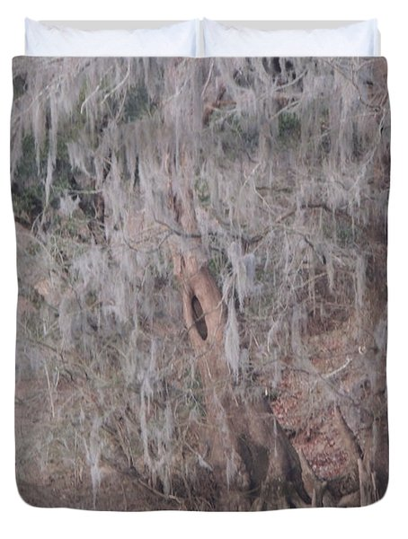 Duvet Cover featuring the photograph Flint River 2 by Kim Pate