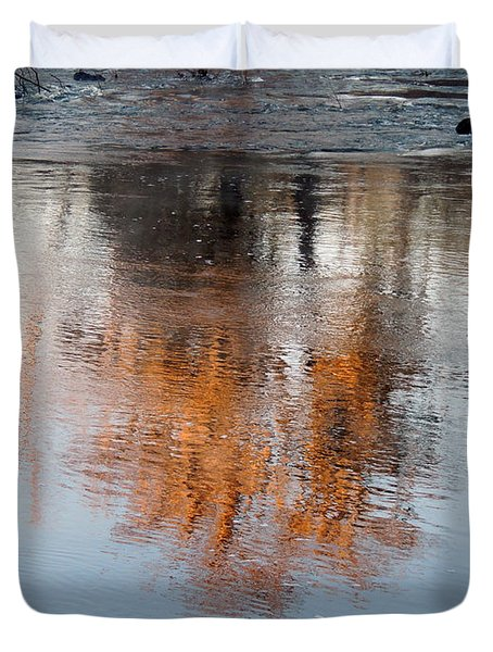Duvet Cover featuring the photograph Flint River 22 by Kim Pate