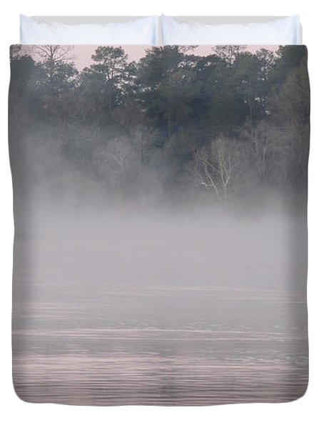 Duvet Cover featuring the photograph Flint River 3 by Kim Pate