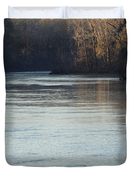 Flint River 31 Duvet Cover