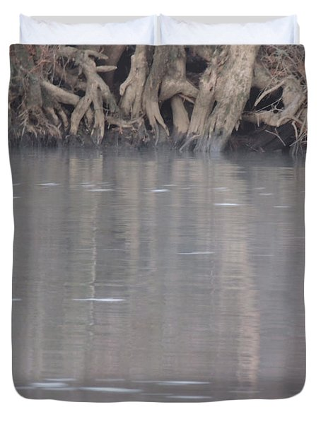 Duvet Cover featuring the photograph Flint River 6 by Kim Pate