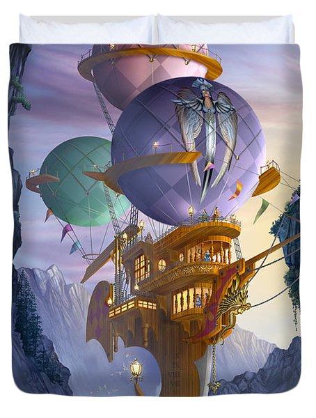 Floatilla Duvet Cover