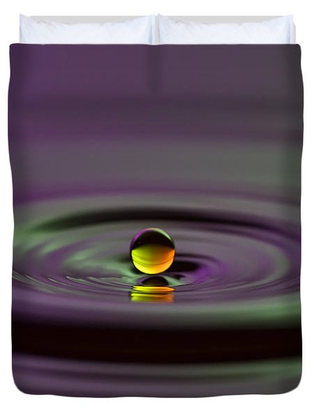 Floating On Water Duvet Cover