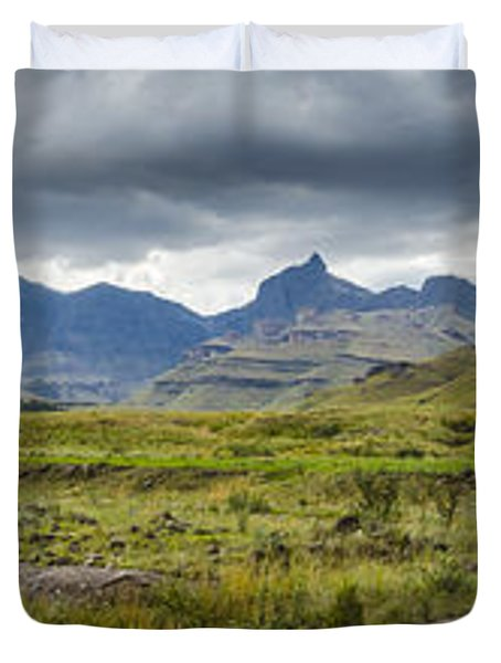 Flooding Light Duvet Cover by Roald Nel