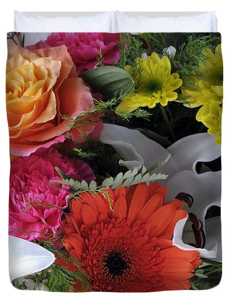 Floral Bouquet 7 Duvet Cover