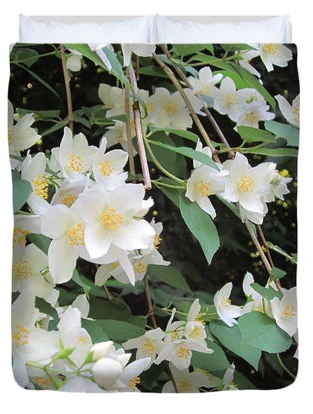 Floral Cascade Duvet Cover