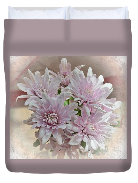 Duvet Cover featuring the photograph Floral Dream by Michelle Meenawong