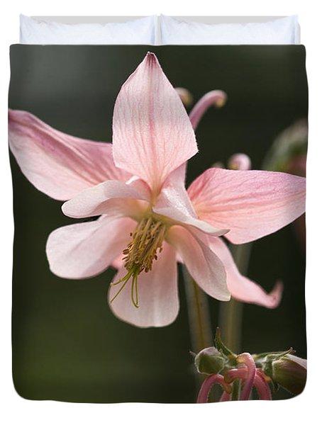 Floral Eloquence  Duvet Cover
