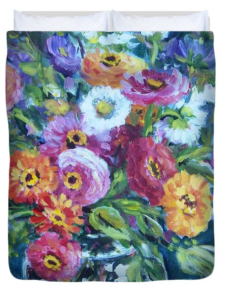 Floral Explosion No. 2 Duvet Cover
