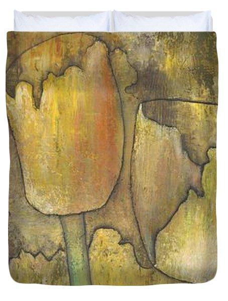 'floral Fruition' Duvet Cover