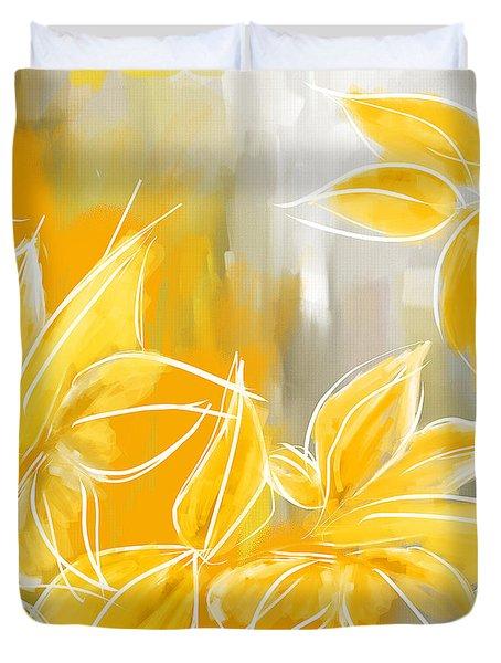 Floral Glow Duvet Cover