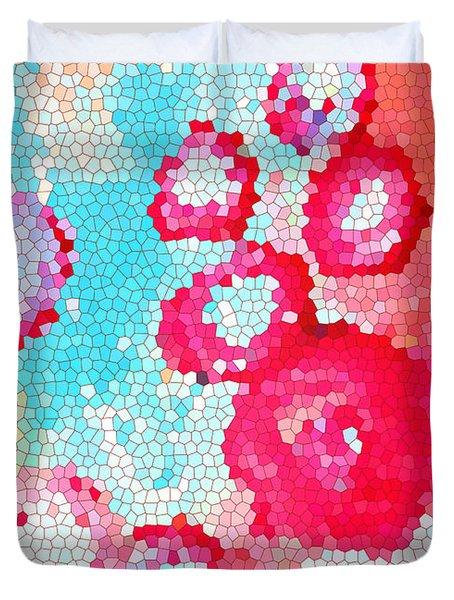 Floral IIi Duvet Cover by Patricia Awapara