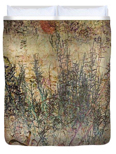 Floral Musings Duvet Cover