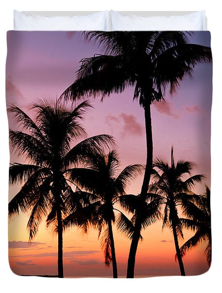 Florida Breeze Duvet Cover by Chad Dutson