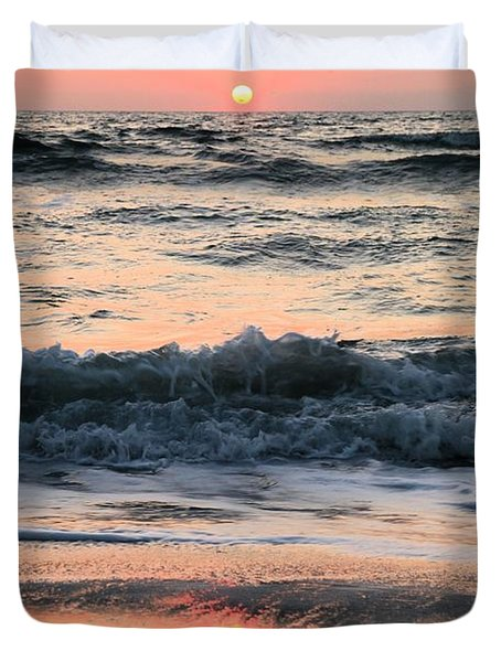 Florida Pastels Duvet Cover by Adam Jewell