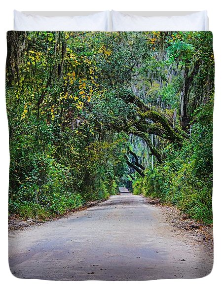 Florida Road Duvet Cover