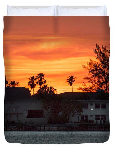 Florida Sky Duvet Cover