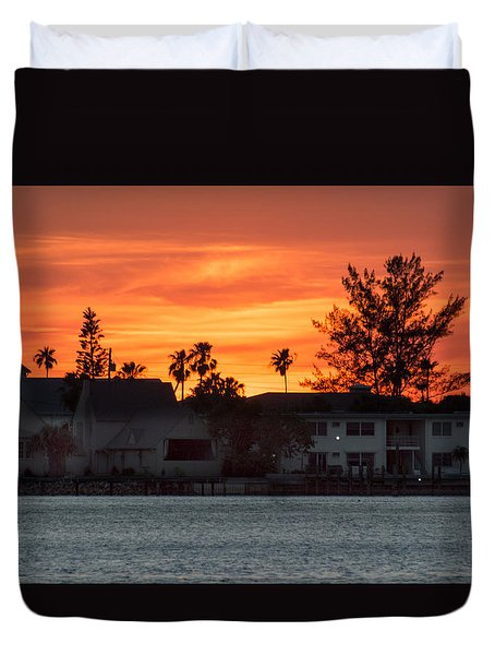 Florida Sky Duvet Cover