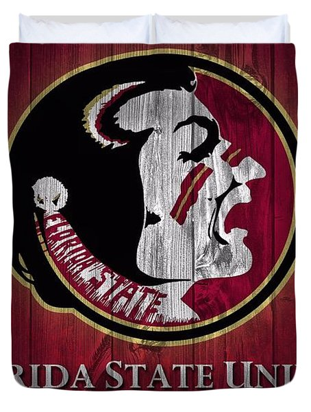 Florida State University Barn Door Duvet Cover