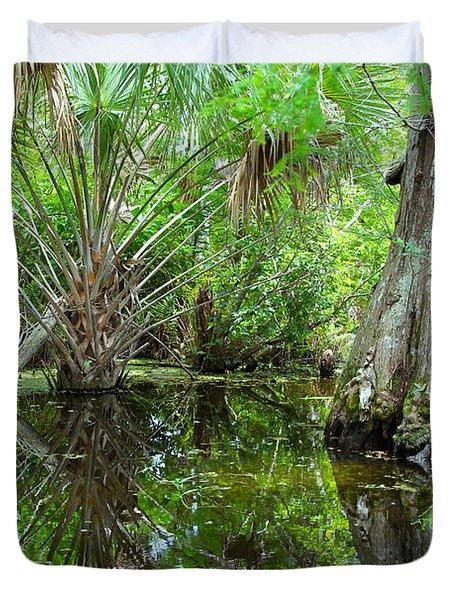 Florida Wetland Duvet Cover