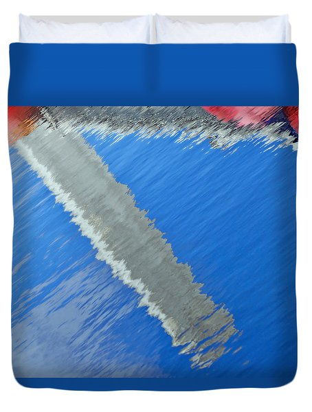 Duvet Cover featuring the photograph Floridian Abstract by Keith Armstrong