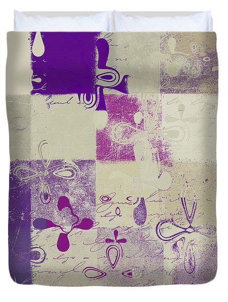 Florus Pokus 02d Duvet Cover by Variance Collections