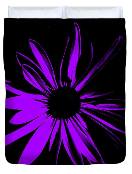 Duvet Cover featuring the digital art Flower 10 by Maggy Marsh