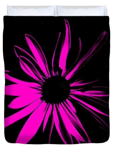 Duvet Cover featuring the digital art Flower 6 by Maggy Marsh