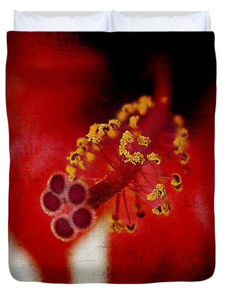 Flower Abstract Duvet Cover
