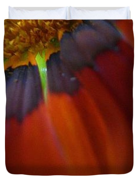 Duvet Cover featuring the photograph Flower by Andy Prendy