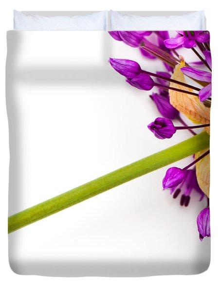 Flower At Rest Duvet Cover