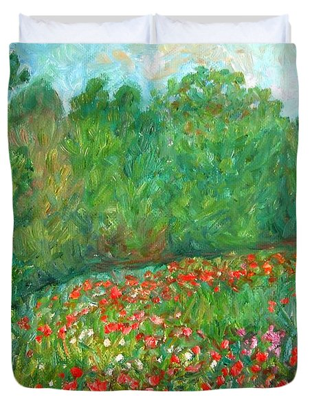Flower Field Duvet Cover