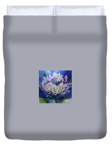 Flower For A Friend Duvet Cover
