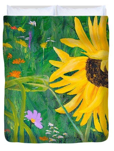 Flower Fun Duvet Cover