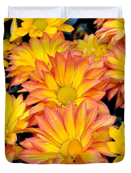 Duvet Cover featuring the photograph Flower  by Gandz Photography