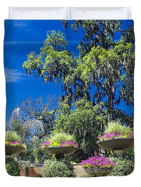 Flower Garden 04 Duvet Cover