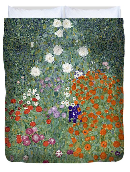 Flower Garden Duvet Cover