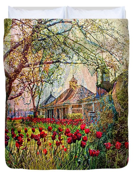 Flower Garden Series 02 Duvet Cover