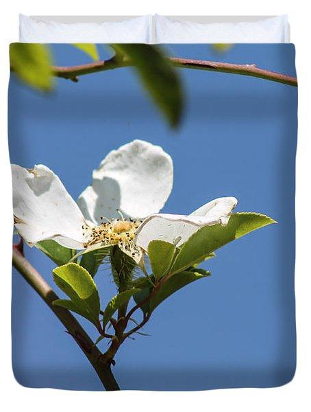 Flower In The Sun Duvet Cover