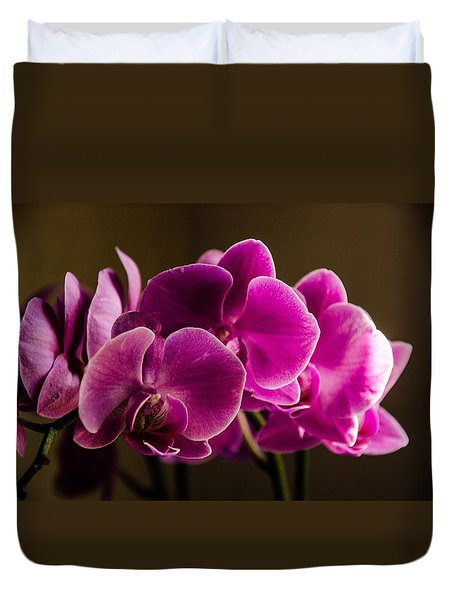 Flower In The Window Light Duvet Cover