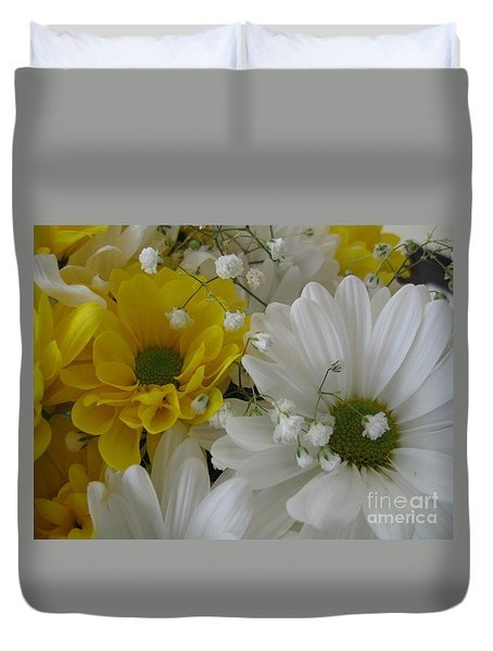 Flower Mix Duvet Cover