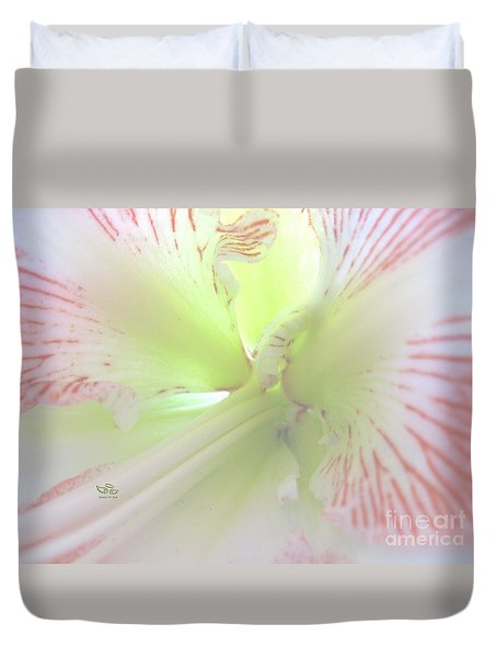 Flower Of Light Duvet Cover